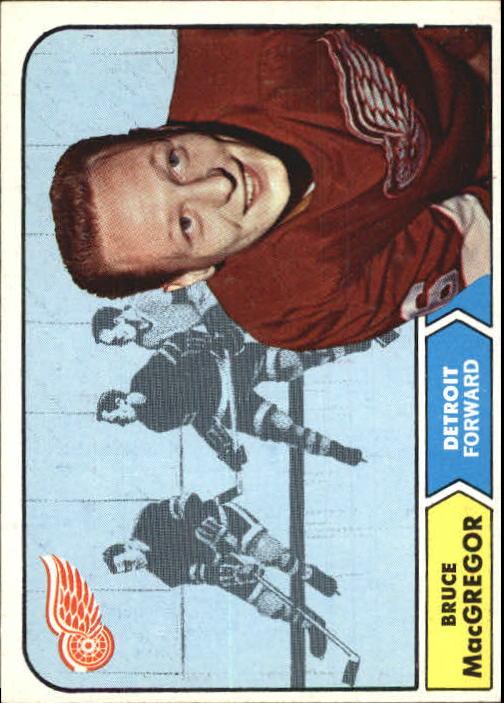 1968-69 Topps #30 Bruce MacGregor