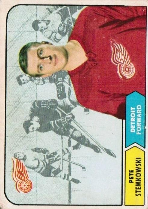 1968-69 Topps #33 Pete Stemkowski
