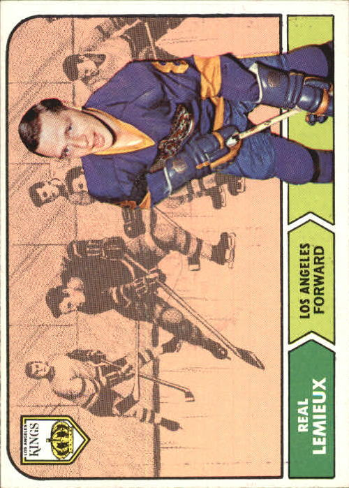 1968-69 Topps #36 Real Lemieux RC