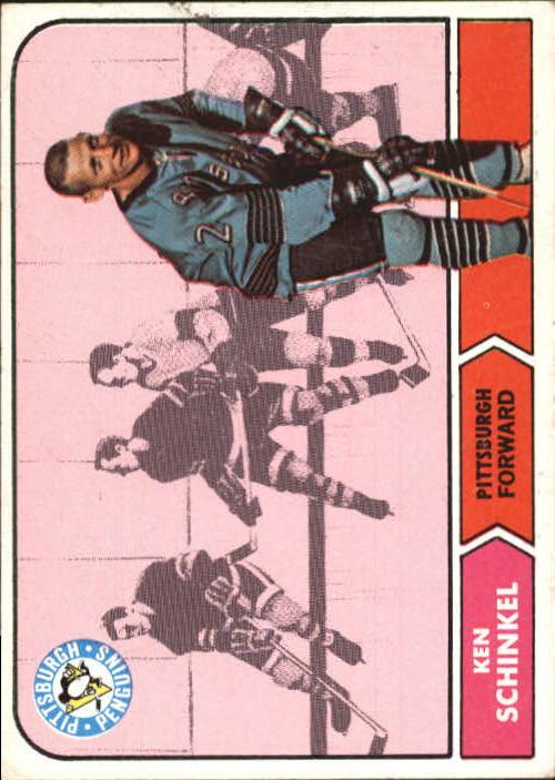 1968-69 Topps #106 Ken Schinkel