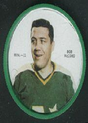 1968-69 Shirriff Coins #73 Bob McCord SP