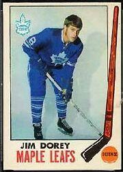 1969-70 O-Pee-Chee #45 Jim Dorey RC