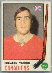 1969-70 O-Pee-Chee #165 Rogatien Vachon