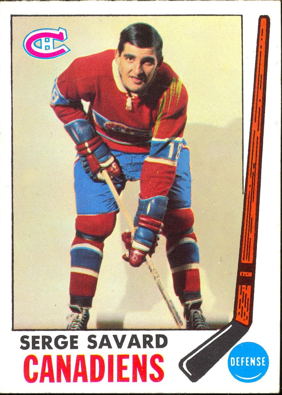 1969-70 Topps #4 Serge Savard RC