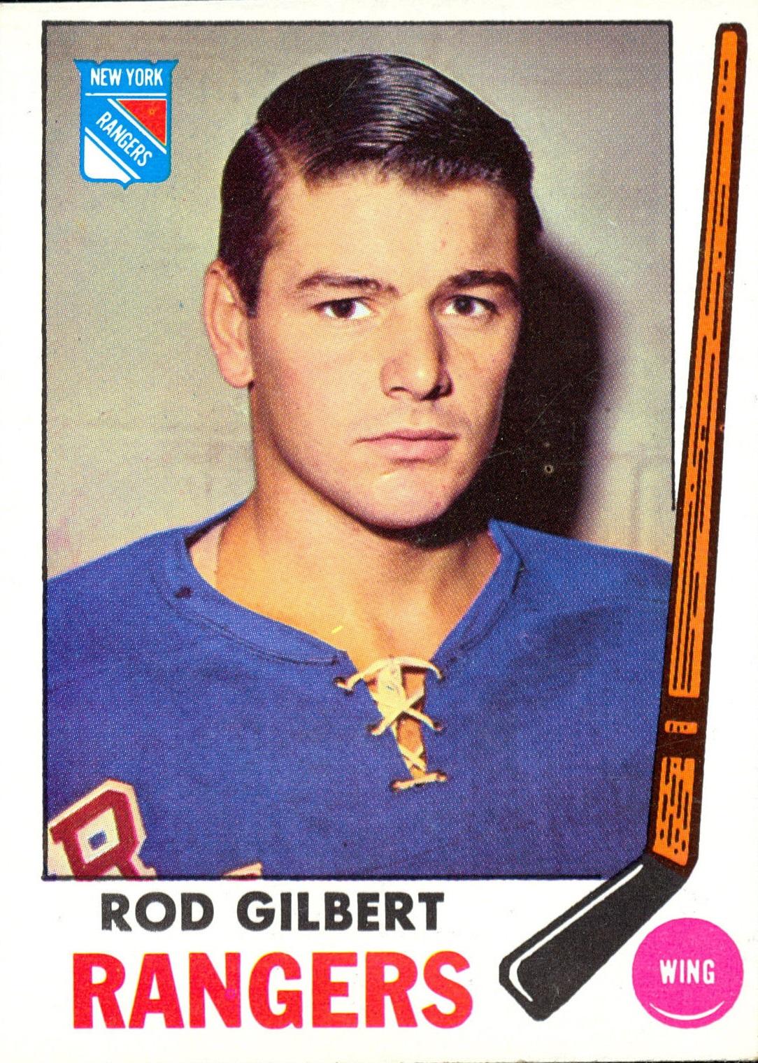 1969-70 Topps #37 Rod Gilbert