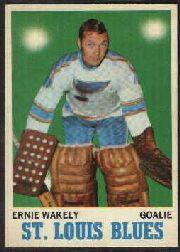 1970-71 O-Pee-Chee #97 Ernie Wakely RC