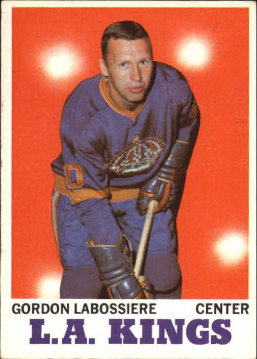 1970-71 Topps #38 Gord Labossiere