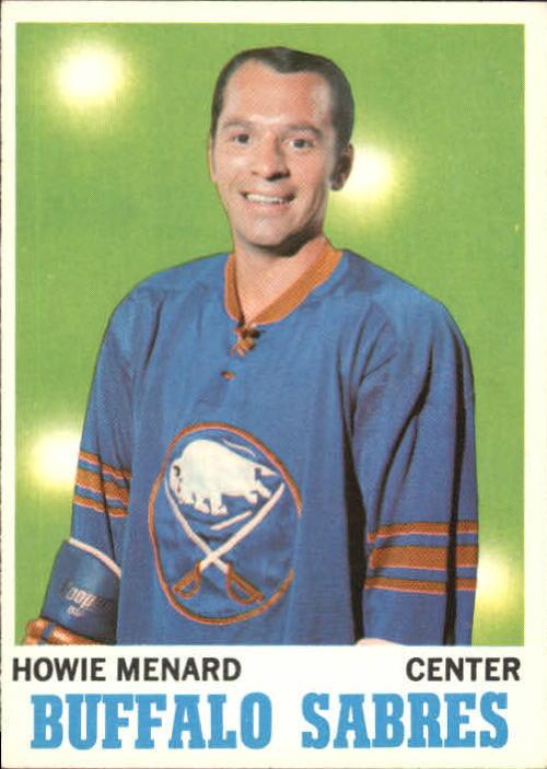 1970-71 Topps #124 Howie Menard