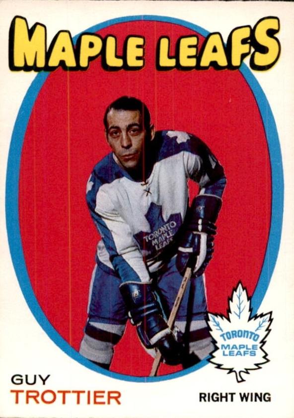 1971-72 O-Pee-Chee #5 Guy Trottier RC