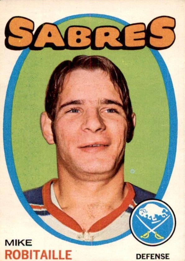 1971-72 O-Pee-Chee #8 Mike Robitaille RC