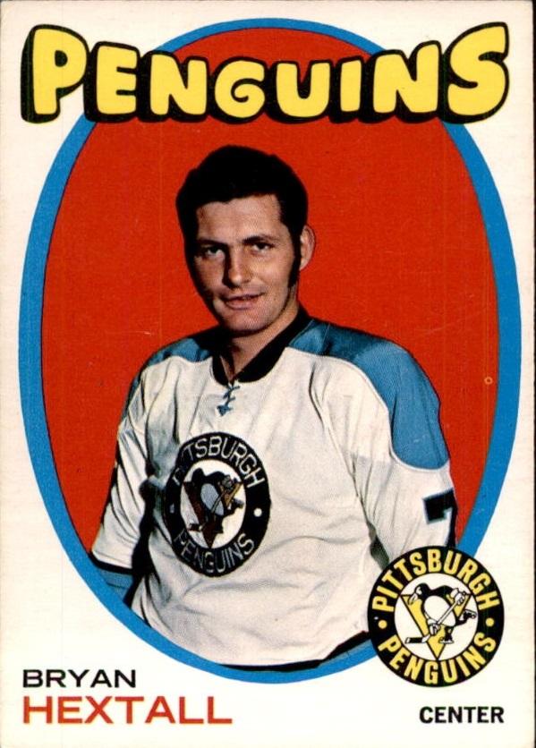 1971-72 O-Pee-Chee #16 Bryan Hextall