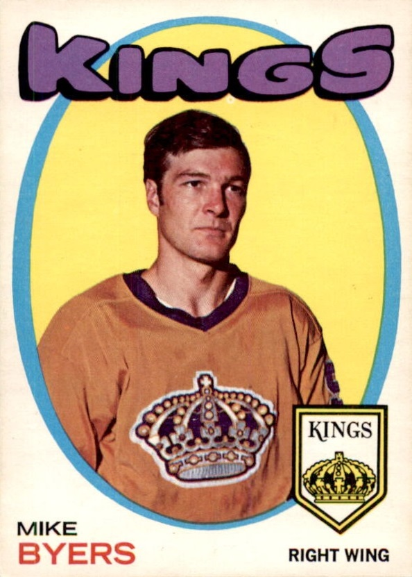 1971-72 O-Pee-Chee #34 Mike Byers