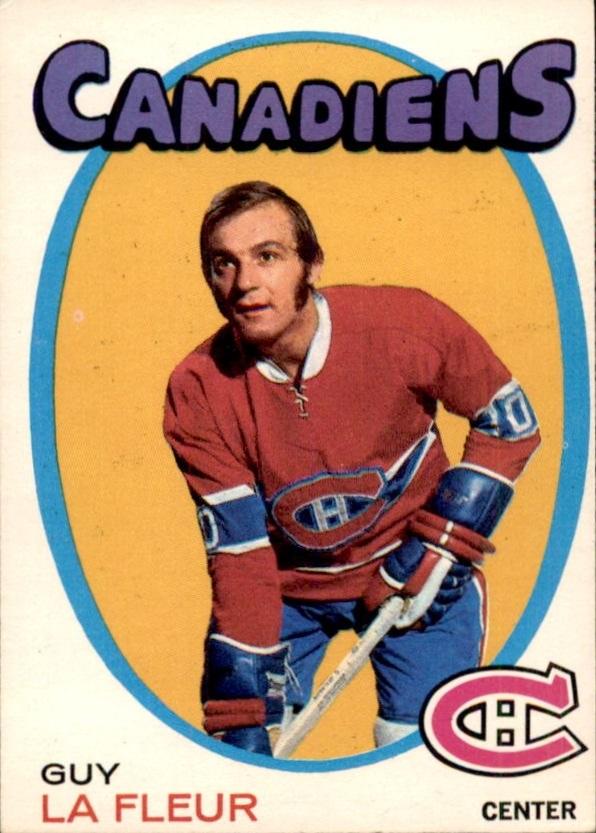 1971-72 O-Pee-Chee #148 Guy Lafleur UER RC