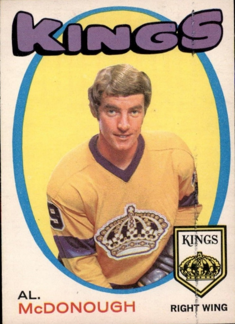 1971-72 O-Pee-Chee #150 Al McDonough RC