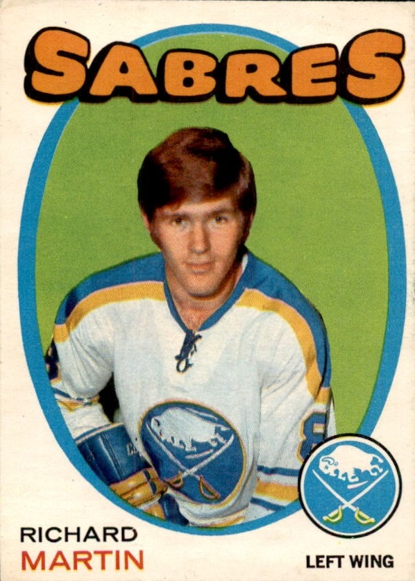 1971-72 O-Pee-Chee #161 Richard Martin RC