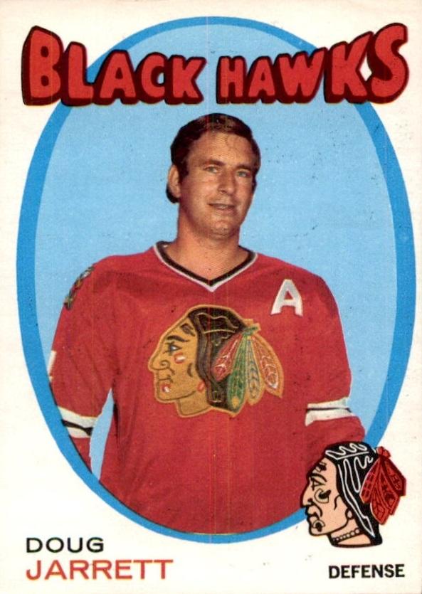 1971-72 O-Pee-Chee #208 Doug Jarrett