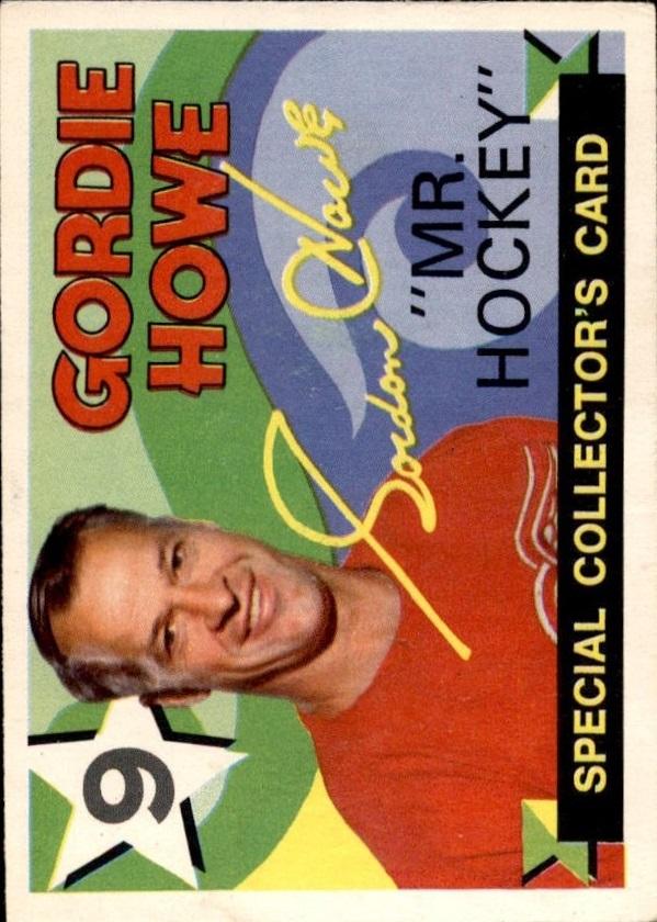 1971-72 O-Pee-Chee #262 Gordie Howe Retires