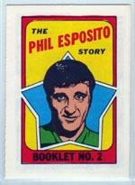 1971-72 O-Pee-Chee/Topps Booklets #2 Phil Esposito