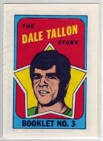 1971-72 O-Pee-Chee/Topps Booklets #3 Dale Tallon