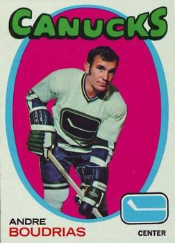 1971-72 Topps #12 Andre Boudrias