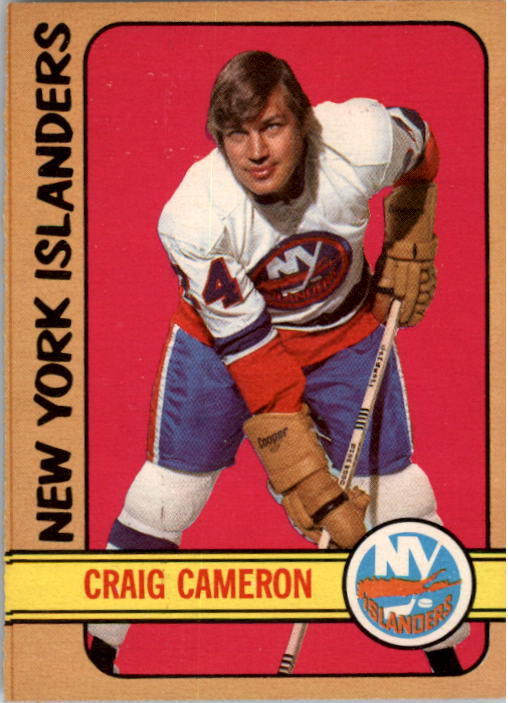 1972-73 O-Pee-Chee #13 Craig Cameron RC