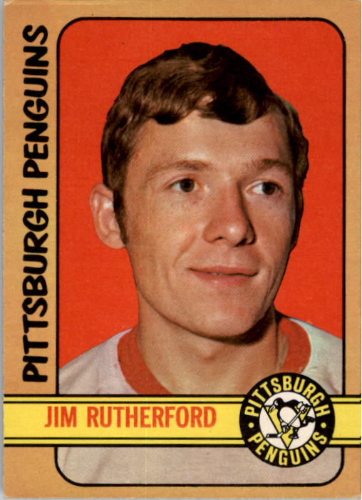 1972-73 O-Pee-Chee #15 Jim Rutherford RC
