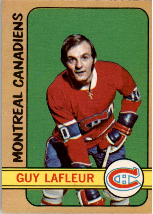 1972-73 O-Pee-Chee #59 Guy Lafleur