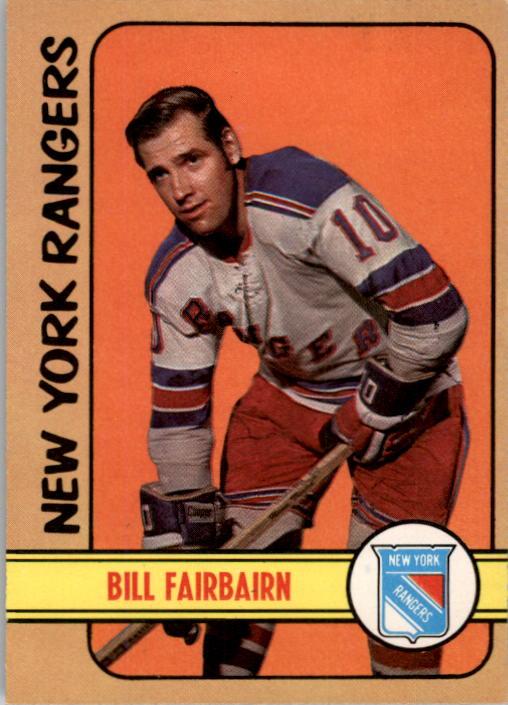 1972-73 O-Pee-Chee #87 Bill Fairbairn