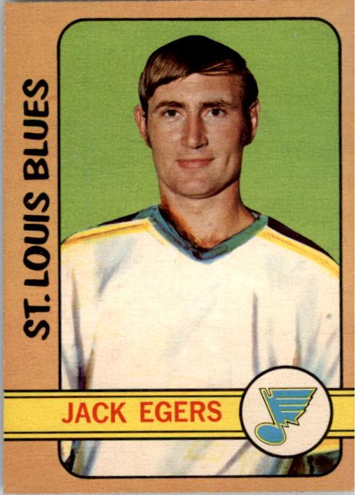 1972-73 O-Pee-Chee #107 Jack Egers RC