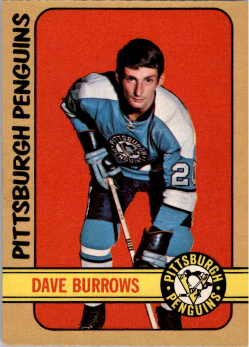 1972-73 O-Pee-Chee #133 Dave Burrows RC