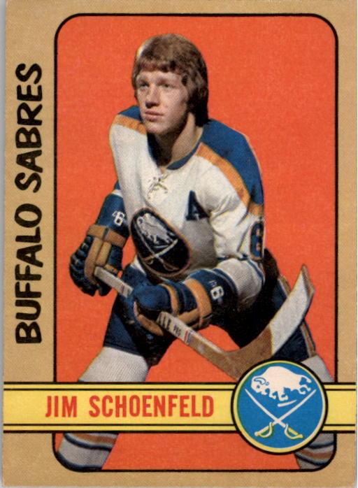 1972-73 O-Pee-Chee #220 Jim Schoenfeld RC