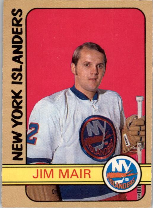 1972-73 O-Pee-Chee #232 Jim Mair RC