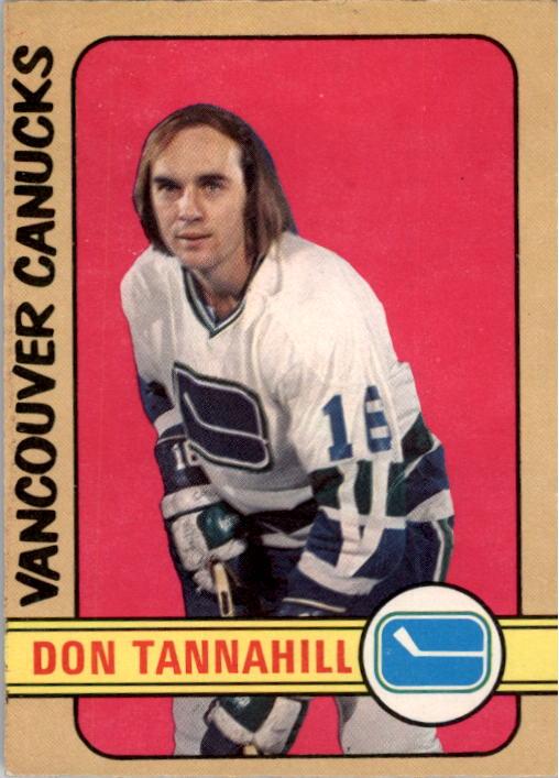 1972-73 O-Pee-Chee #238 Don Tannahill RC