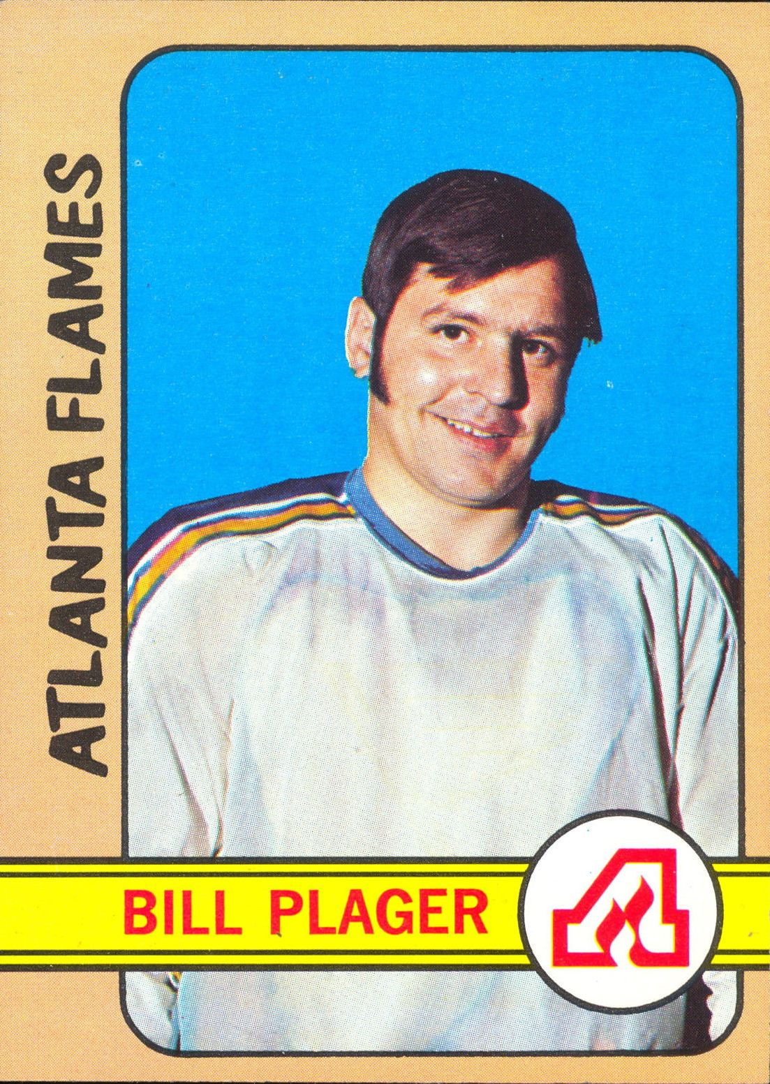 1972-73 Topps #12 Bill Plager RC