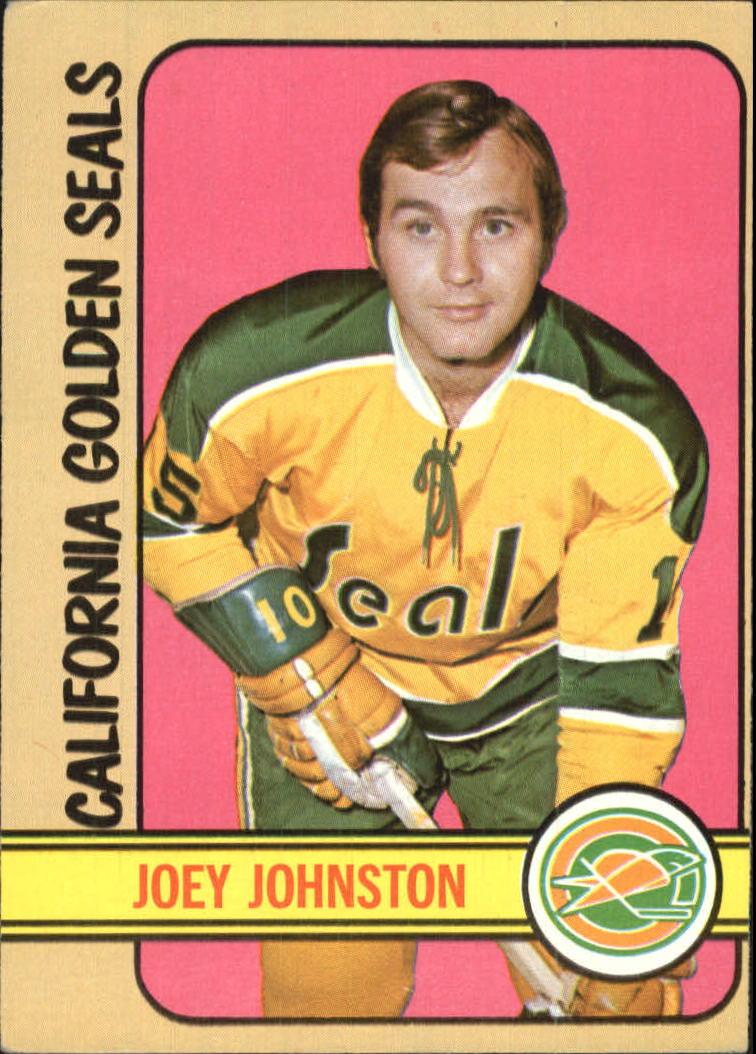 1972-73 Topps #48 Joey Johnston DP
