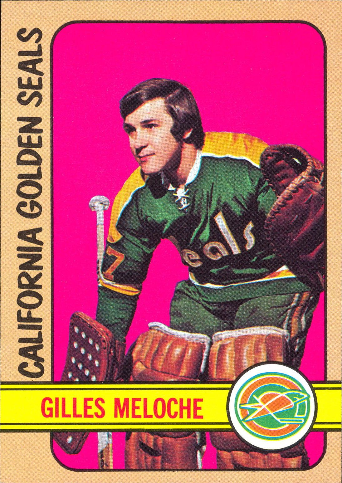 1972-73 Topps #69 Gilles Meloche RC