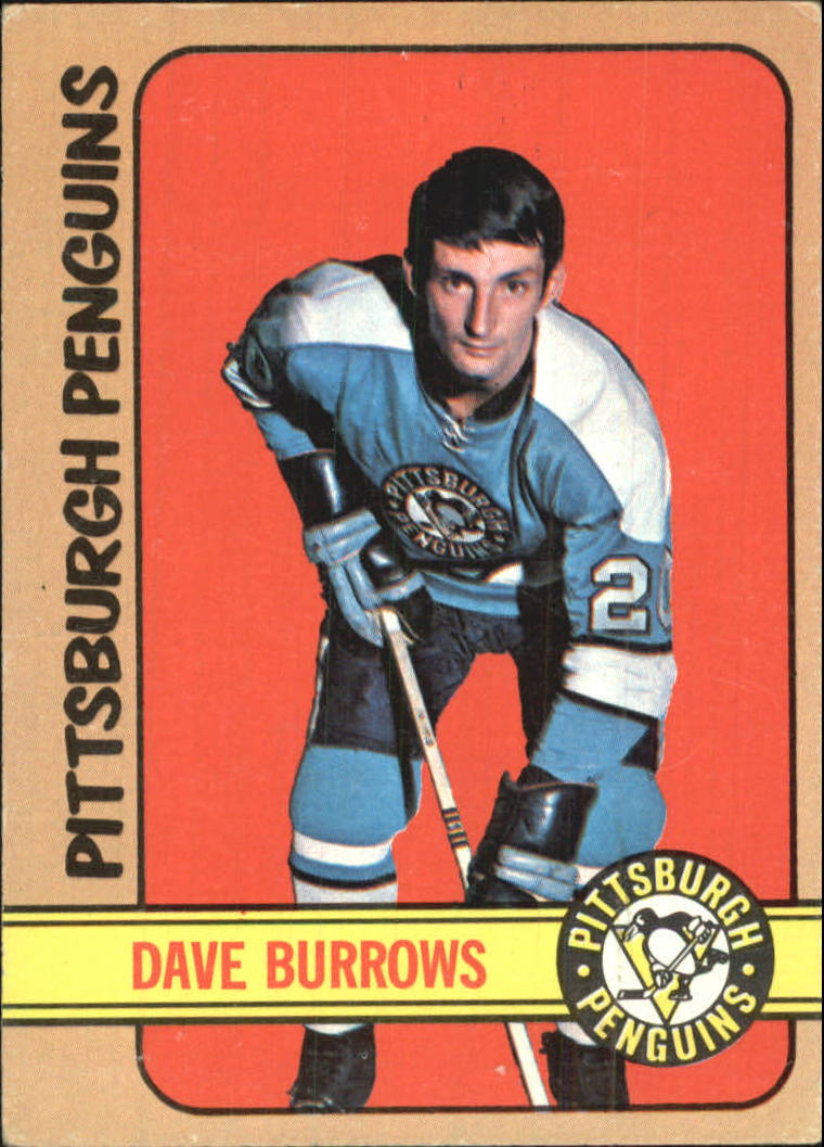 1972-73 Topps #82 Dave Burrows DP RC