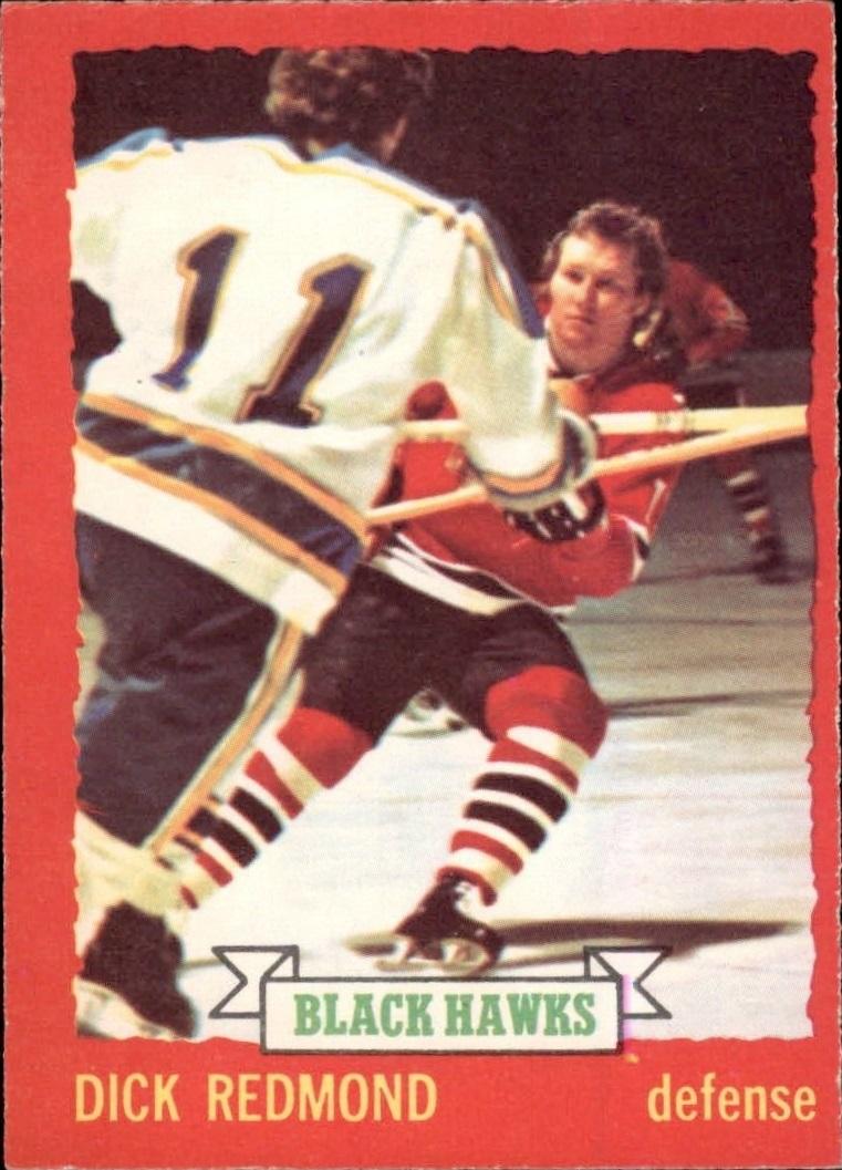 1973-74 O-Pee-Chee #12 Dick Redmond