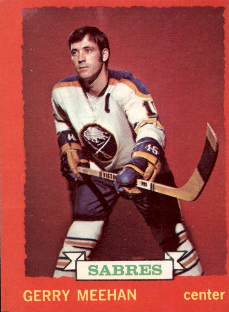 1973-74 O-Pee-Chee #22 Gerry Meehan