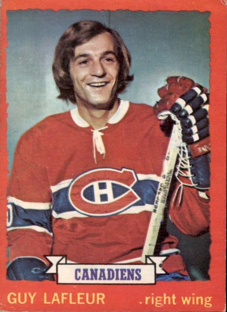 1973-74 O-Pee-Chee #72 Guy Lafleur