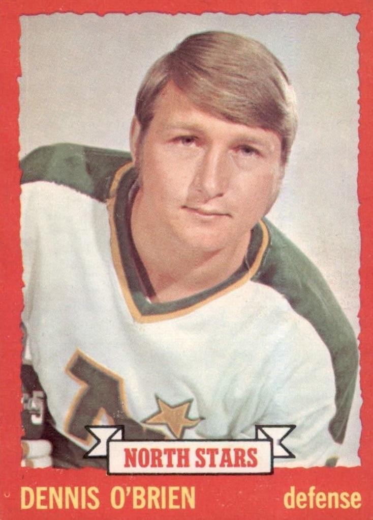 1973-74 O-Pee-Chee #88 Dennis O'Brien RC