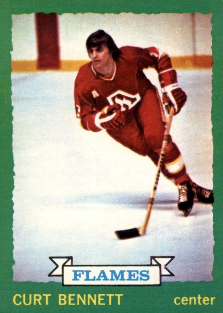 1973-74 O-Pee-Chee #149 Curt Bennett RC