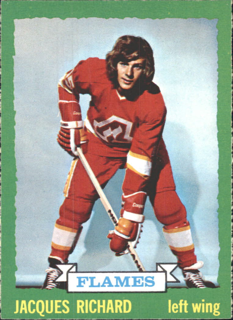 1973-74 O-Pee-Chee #169 Jacques Richard