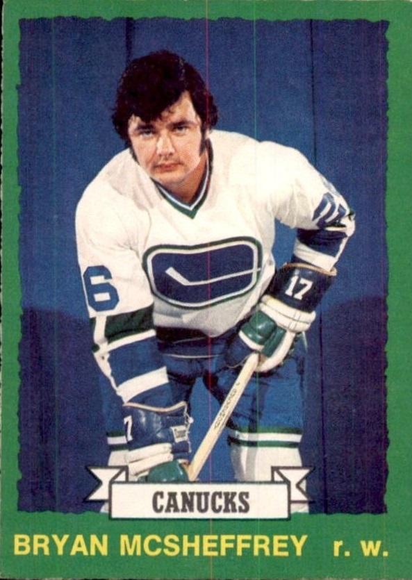 1973-74 O-Pee-Chee #219 Bryan McSheffrey RC