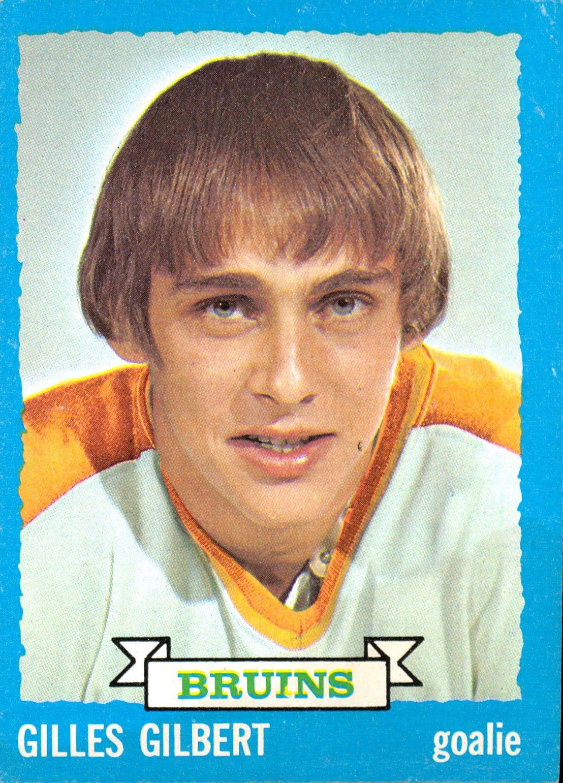 1973-74 Topps #74 Gilles Gilbert DP RC