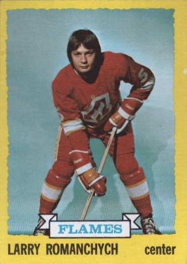 1973-74 Topps #185 Larry Romanchych RC