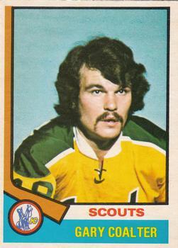 1974-75 O-Pee-Chee #17 Gary Coalter RC