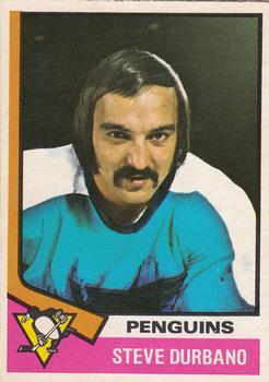 1974-75 O-Pee-Chee #106 Steve Durbano