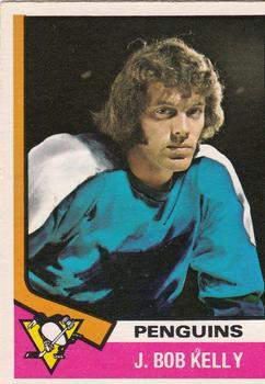 1974-75 O-Pee-Chee #143 J. Bob Kelly RC