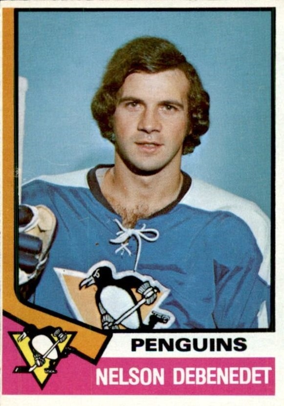 1974-75 O-Pee-Chee #293 Nelson Debenedet RC